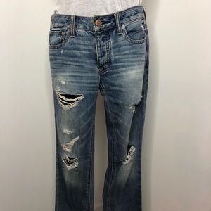 American Eagle Boyfriend Fit Jeans Size 4